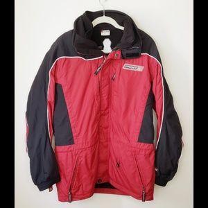 Spyder Jacket with fleece jacket